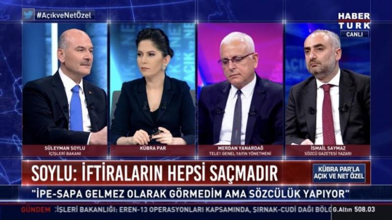 Süleyman Soylu, Habertürk yayınında 10 bin dolar alan milletvekilinin ismini savcıya vereceğini söylemişti