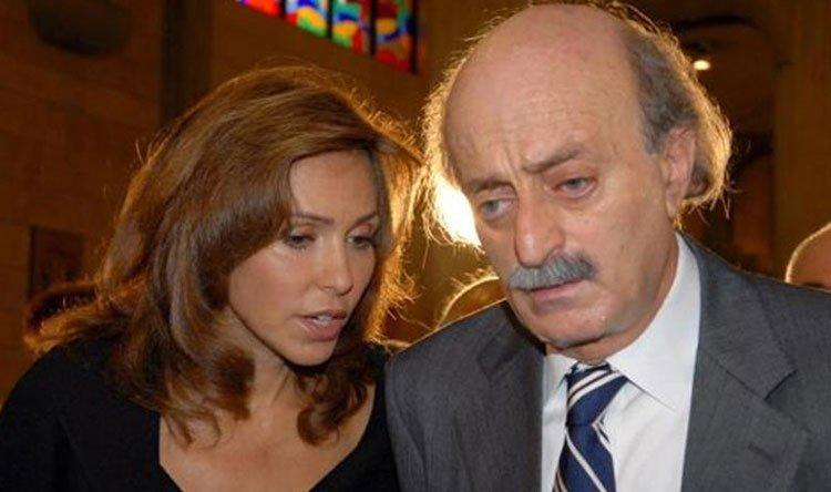 Suudi istihbarat raporunda adı geçen Velid Canbulat ile eşi Nura .jpg