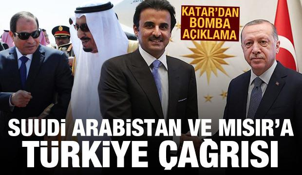 Katar, Suudi Arabistan ve Mısır yönetimini Türkiye ile yakınlaşma çağrısında bulundu. 7 Mayıs 2021.jpg
