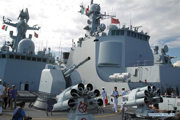 Güçlü Çin Savaş Filosu, 2015'te Meksika'nın Acapulco Limanında ziyarete açıldı-Fotoğraf-Xinhua Ajansı .jpg