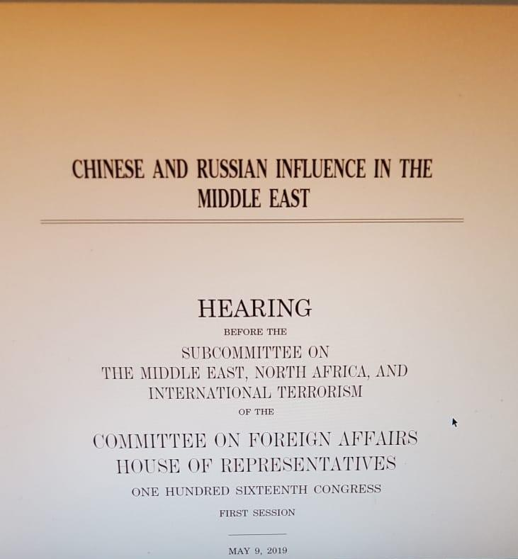 Çin ve Rusya'nın Ortadoğu'daki nüfuzu hakkında Amerikan Temsilciler Meclisi'ne sunulan rapor.jpg
