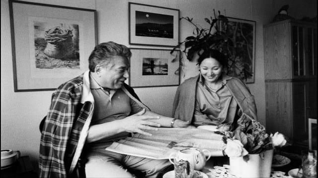 Cengiz Aytmatov ve  Maria Aytmatova.jpg