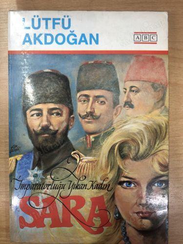 Gazeteci Lütfü Akdoğan'ın Yahudi kadın casus Sara hakkında yazdığı İngilizceye çevrilmiş .jpg