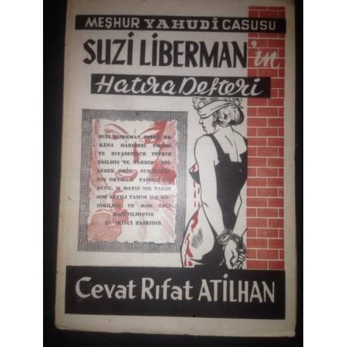 Cevat Rıfat Atilhan'nın NİLİ şebekesi baş sorumlusu Sara hakkında yazdığı kitabın kapağı. .jpg