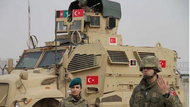 Afganistan'da görev yapan Türk askerleri