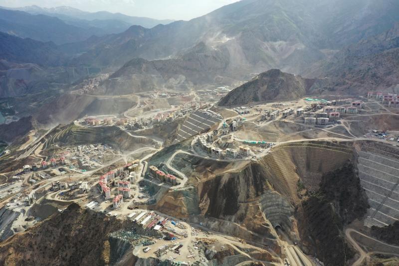 yusufeli barajı bağlantı yolu AA