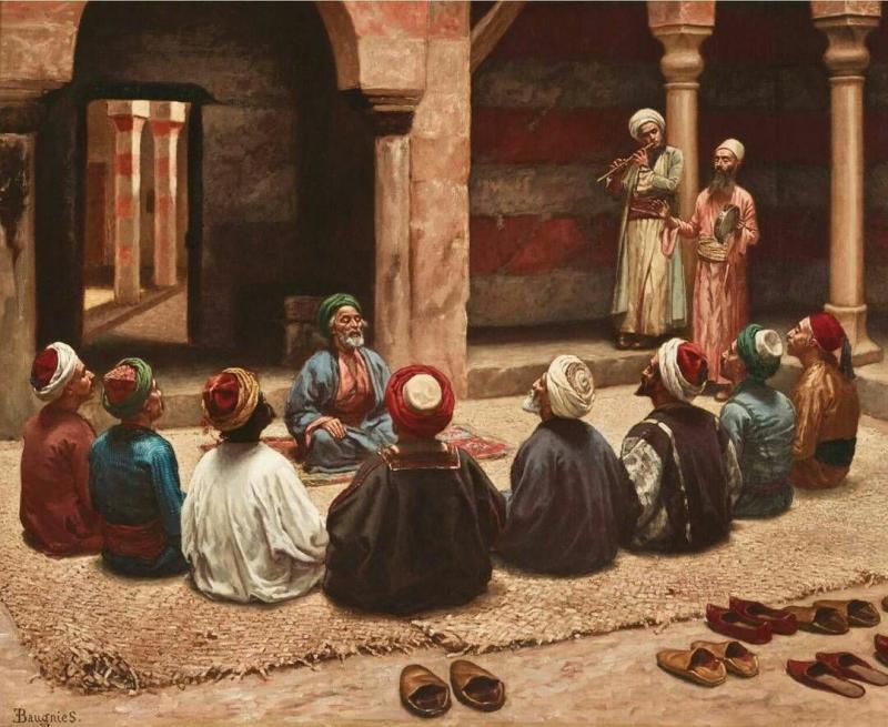 Kahire'de bir Medrese, 1600'ler.jpg