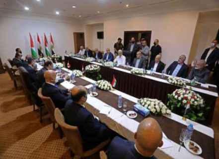 Mısır İstihbarat Şefi General Abbas Kamil, Gazze'deki Filistin örgüt temsilcileriyle görüşmüştü.jpg
