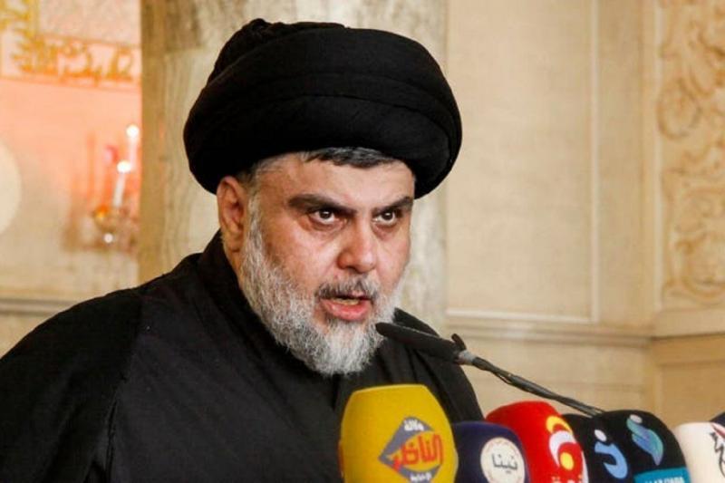 Sairun Li'l Islah hareketi lideri Mukteda Sadr, KDP ile beraber seçimin pusulasını belirleyecek-fotoğraf, AFP.jpg