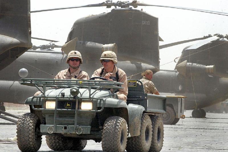 Afganistan'ın Bagram Hava üssündeki Amerikan askerleri-fotoğraf, AFP .png
