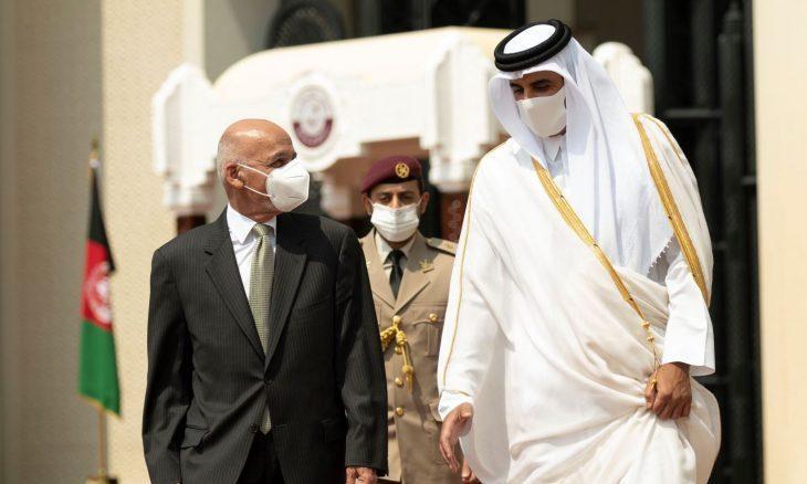 Katar hükümdarı Temim bin Hamad- Afgan hükümeti ile Taliban arasındaki barış görüşmelerine ev sahipliği yaptı.  .jpg