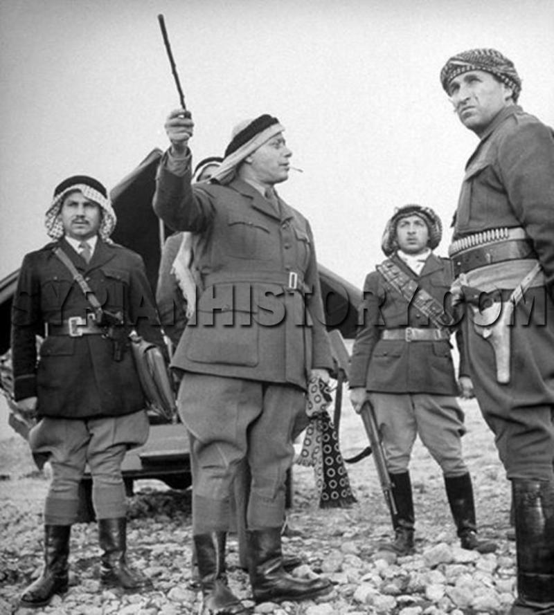 Filistin Selamet Ordusu komutanı Fevzi El Kavukçi, 1948.jpg