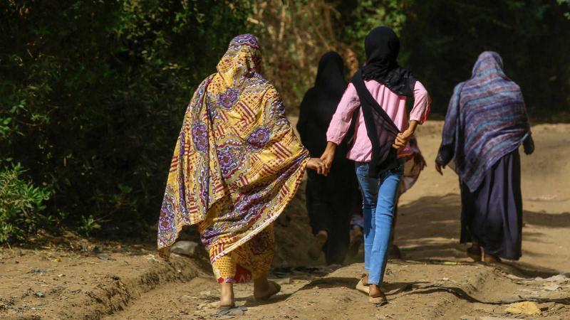 Sudan-Darfurlu kadınlar yıllarca süren çatışmalar sonucu, aşırı şiddete maruz kalıyorlar.-Fotoğraf, AFP   .jpg