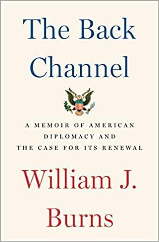 Yeni CIA baş sorumlusu William J. Burns'un kitabının kapağı.jpg