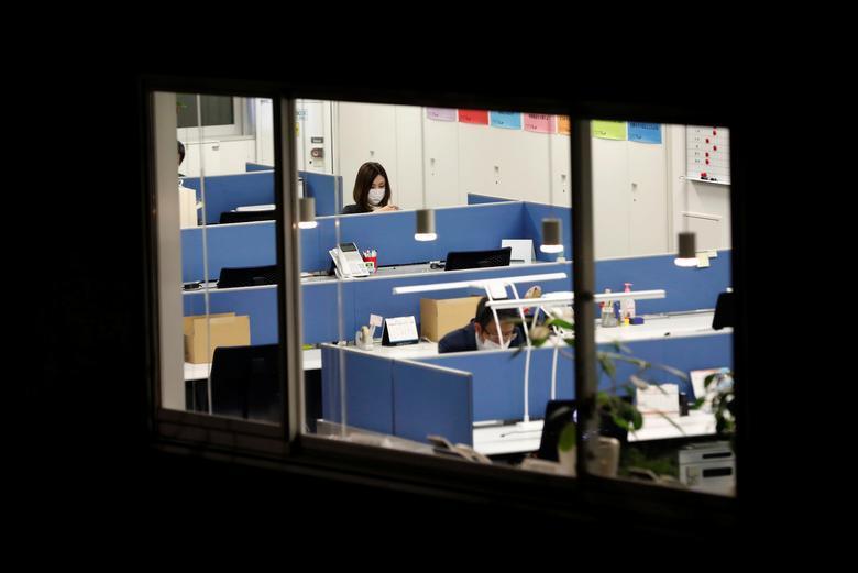 ofis japonya reuters