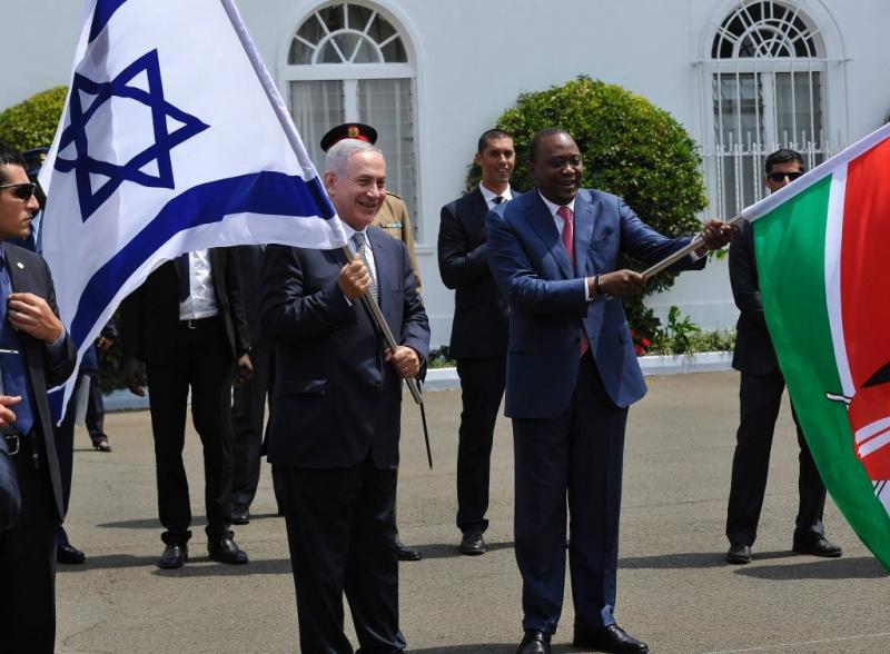 netanyahu afrika AFP