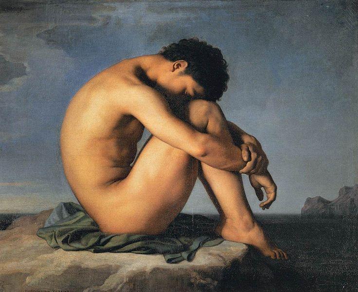 736px-Hippolyte_Flandrin_-_Young_Man_by_the_Sea_-_WGA07905.jpg