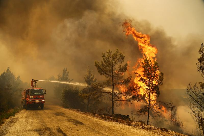 yangın reuters