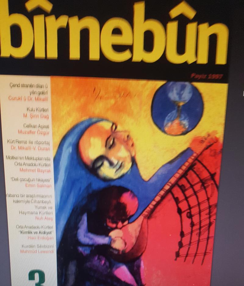 İç Anadolu Kürtlerinin kültürünü yaşatmaya çalışan Bîrnebûn dergisi, 50 yıldan beri Avrupa'da yayını sürdürüyor.jpg