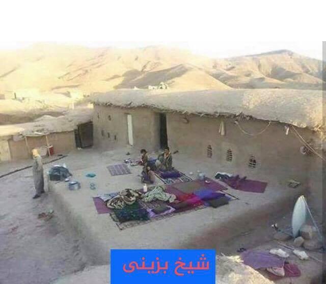 Sıcaktan damda yatan Şeyhbızıni ailesi-Kürdistan bölgesi.jpg