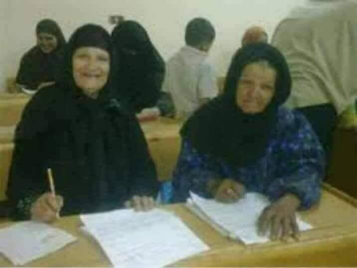 Şeyhbızıni yetişkin kadınları okuma yazma öğreniyorlar-Irak.jpg