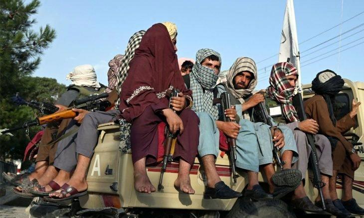 Talibancılar başkente girerken.jpg