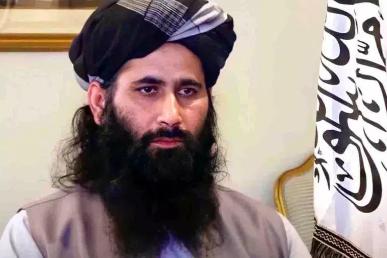 Dr. Muhammeo Naim, Taliban Politbüro sözcüsü-.jpg