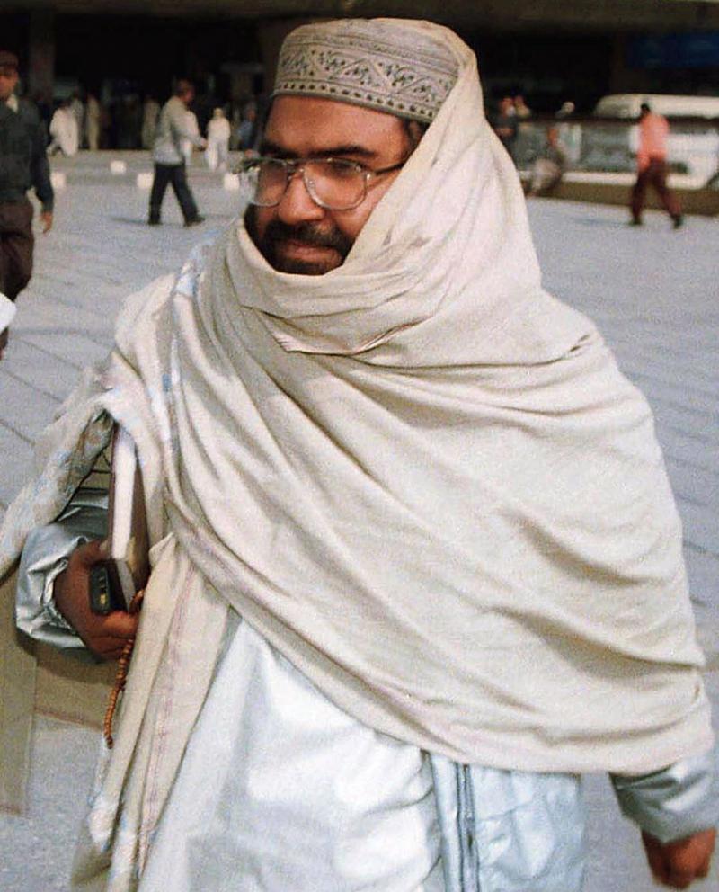 Cihat anlayışını İngiltere'ye taşıyan Pakistanlı Mesud Ezhar (Masood Azhar)-kaynak, BBC .jpg