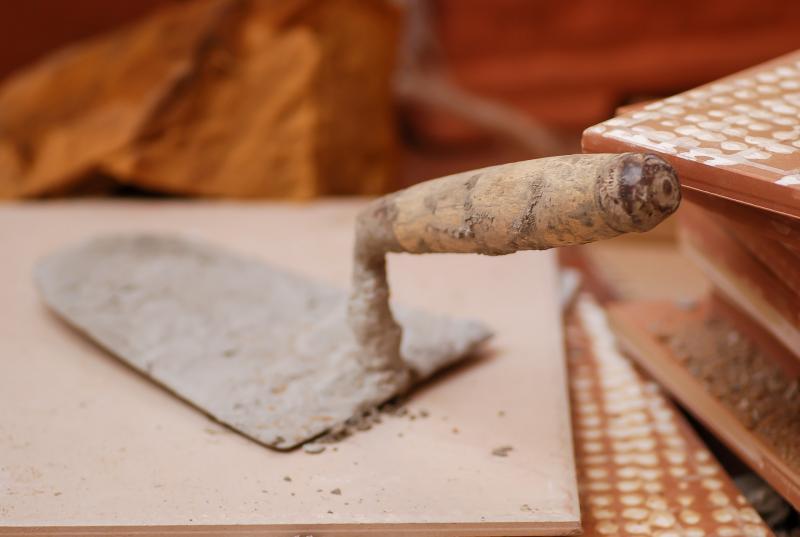 çimento unsplash inşaat