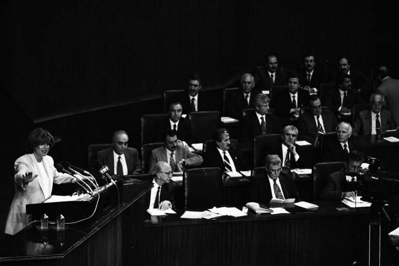 Seyfi Oktay, 1991-1994 Koalisyon döneminde Bakanlık yaptı-Yer TBMM. .jpg