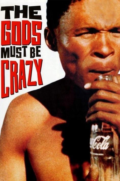 Tanrılar Çıldırmış Olmalı filminin tanıtım yazısı.jpg