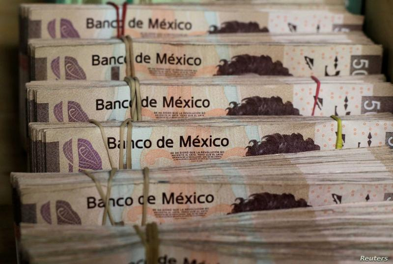 Meksika Peso Reuters
