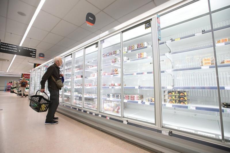 İngiltere kamyon Reuters gıda krizi