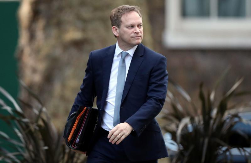 Grant Shapps İngiltere Reuters