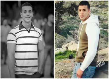 Batı Şeria'daki çatışmada öldürülen Filistinli gencin iki farklı görüntüsü.jpg