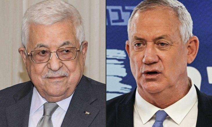Mahmut Abbas ile İsrail Savunma Bakını Beni Gantz gizlice buluştu_.jpg