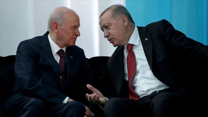 Devlet Bahçeli - Recep Tayyip Erdoğan