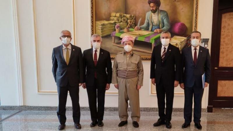 Oğuz Kaan Salıcı başkanlığındaki CHP Heyeti, Erbil'de eski Kürdistan Yönetim Başkanı Mesud Barzani'yle buluştu.-Mesud Barzani Arşivi.jpg