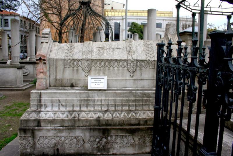 Said Halim Paşa'nın mezarı.JPG