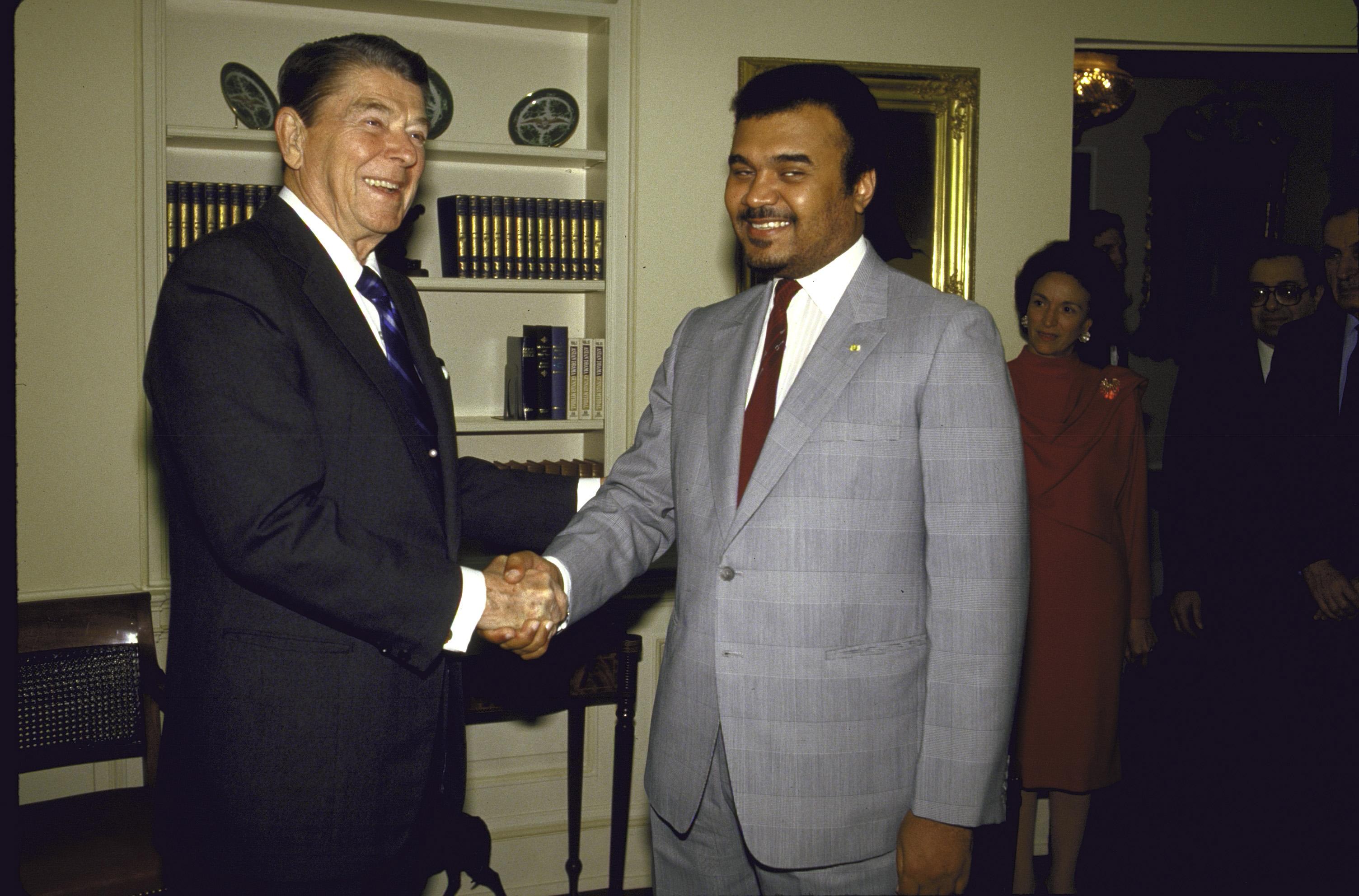 Bender bin sultan ve ABD başkanı reagen