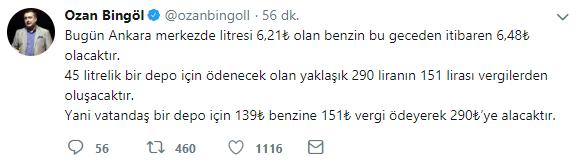 ozan bingöl tweet