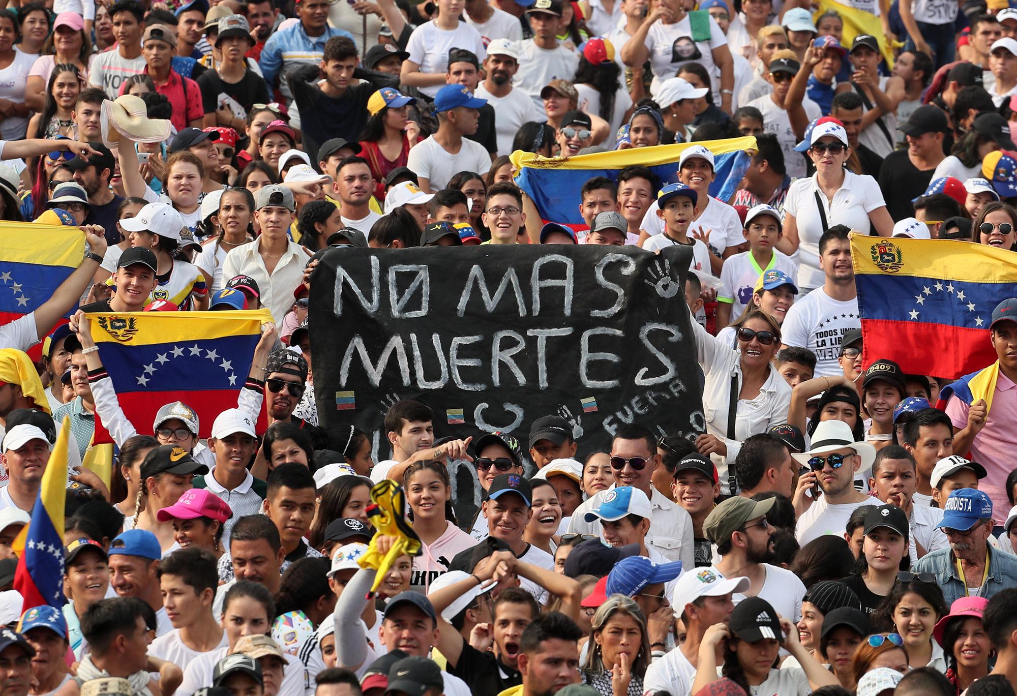 Venezuela Yardım Konseri 1 Fotoğraf İHA.jpg