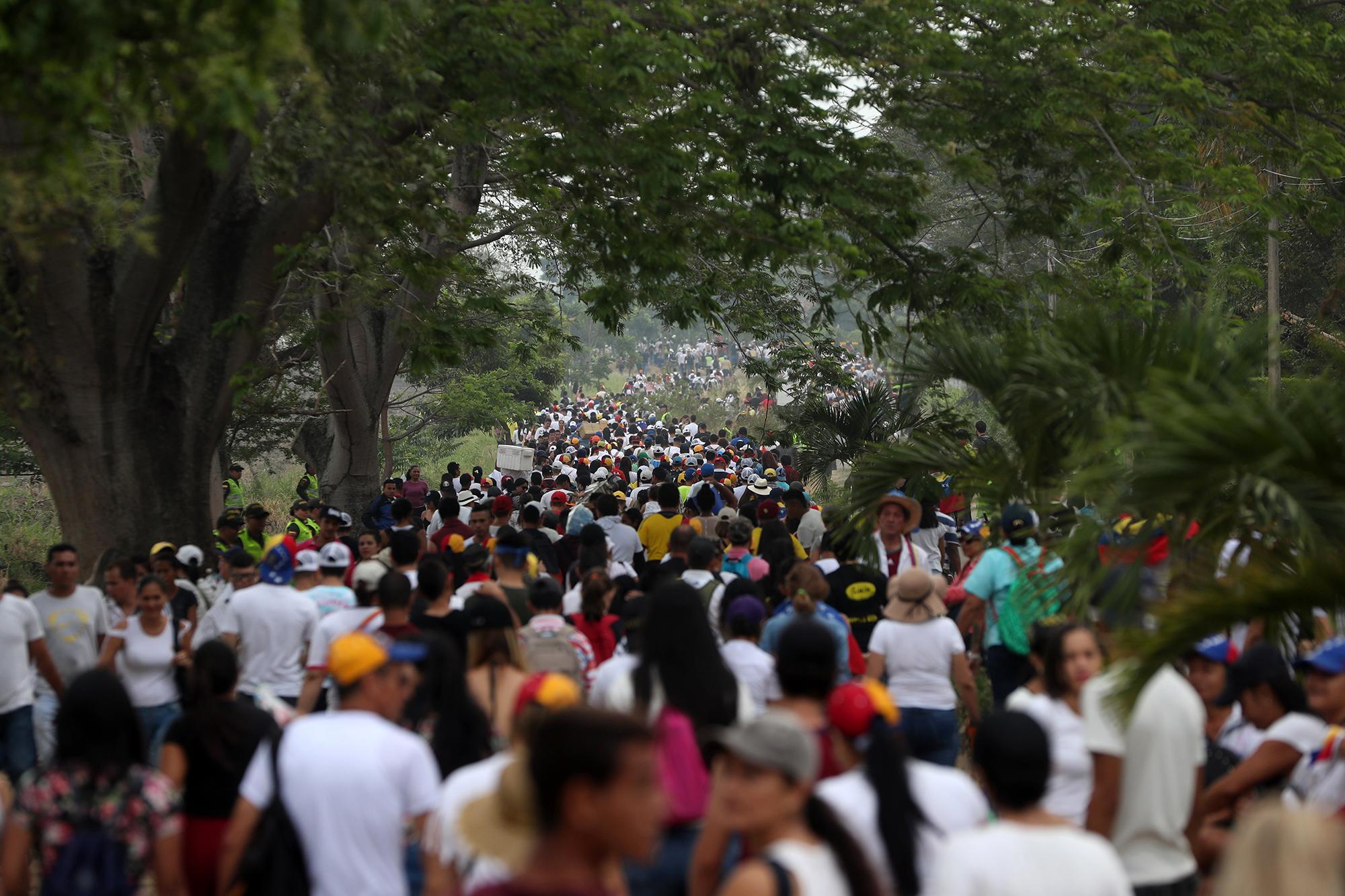 Venezuela Yardım Konseri Fotoğraf İHA.jpg