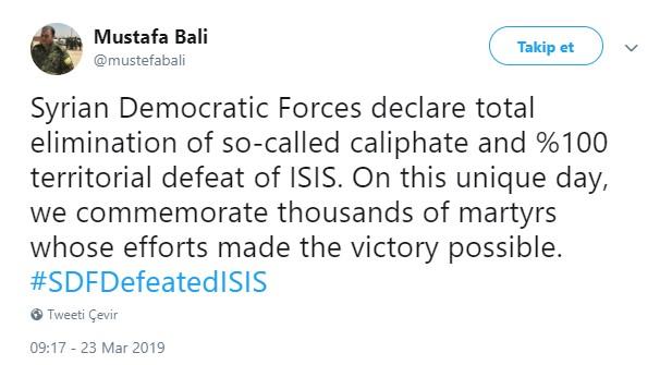 Mustafa Bali açıklama