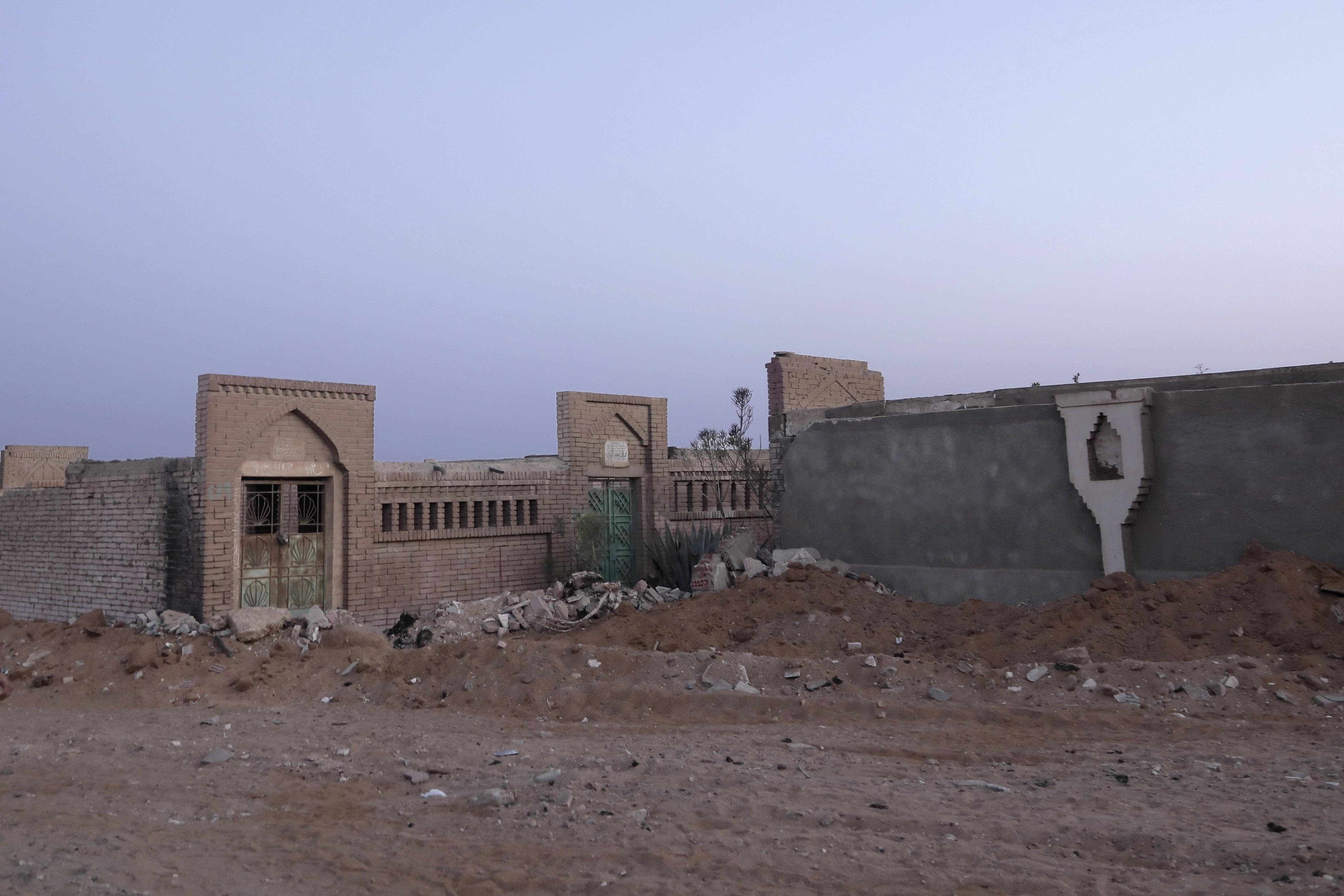 Mursi'nin defnedildiği mezarlık AP