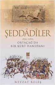 Ortaçağda bir Kürt hanedanı Şeddadiler hakkında kitap kapağı.jpg
