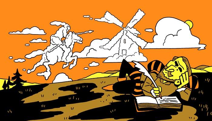 Don Kişot'un yazılışı.jpg