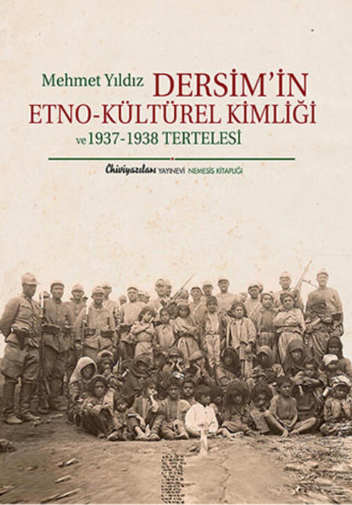 Mehmet Yıldız'ın Dersim olayına ilişkin kitabının kapağı. .jpg
