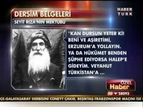 Seyit Rıza'nın operasyon öncesinde olay çıkmaması için Ankara ve General Alpdoğan'a gönderdiği uzlaşma mektubu haberi.jpg