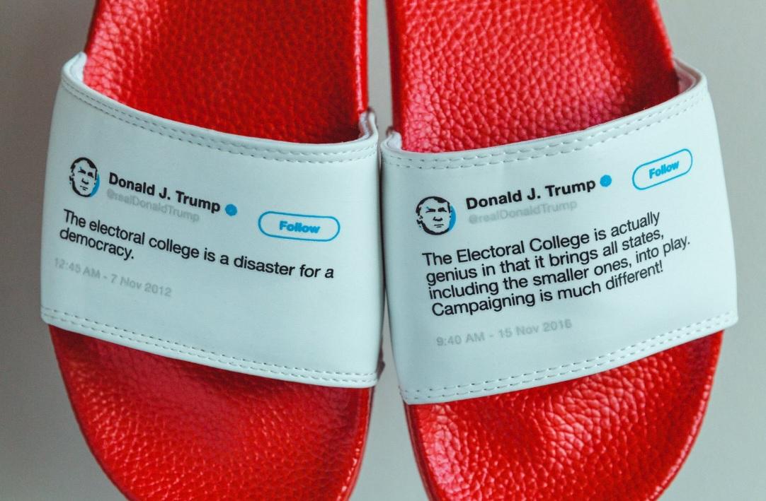 Trump seçim tweeti terlikte.jpg